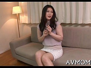 Mother i'd like to fuck asian gets fingered and drilled