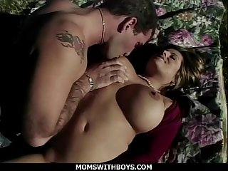 MomsWithBoys - Big Tit Horny Mom Outdoor Sex With A Stud's Big Cock