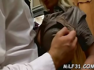 Honey is enchanting stud's huge cock with outdoor blowjob