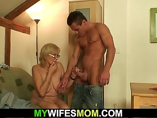 Girlfriends oldest mom is horny bitch!