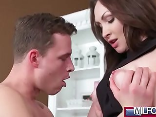 Milf Takes Home Boy Toy from Gym(Yasmin Scott) 01 video-12