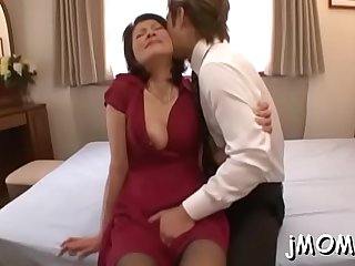 Hottie jerks off and sucks