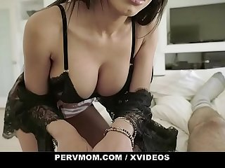 PervMom - Beautiful Stepmom Cheats On Husband With Stepson