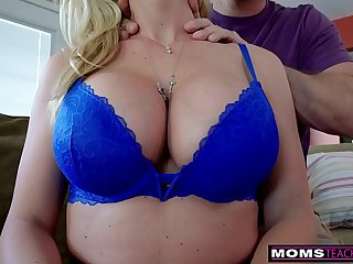 """I Realized He Had A Step Mom Crush Going On"" Taking Care Of Busty Step Mom"