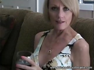 Step Mom Sucks Off Her Son