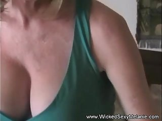 Mom Gives Son A Sweet Handjob