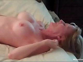 Anal Threesome For Horny Granny
