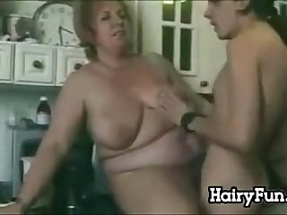 Fat And Hairy Grandma Wanting A Cock