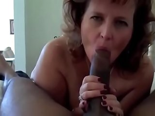 Hot Granny With Fat Ass Gets A Big Black Cock