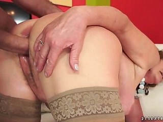 Hairy Granny wants big dick