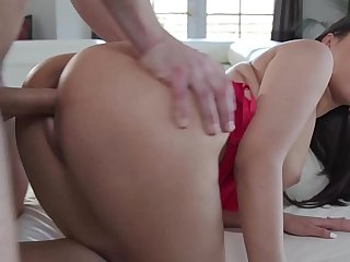 Busty Asian Step Mom Sharon Fucks Sons Cock