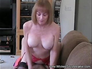 Creampie For Amateur GILF Slut