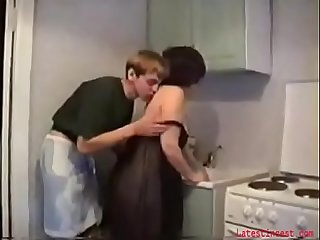 Son fucks a gorgeous mother