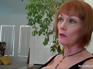 Mommy Blowjob For A Good Son