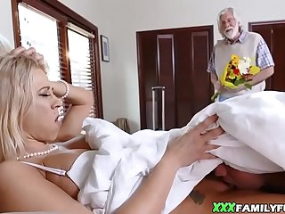 MILF Stepmom Caught Masturbating